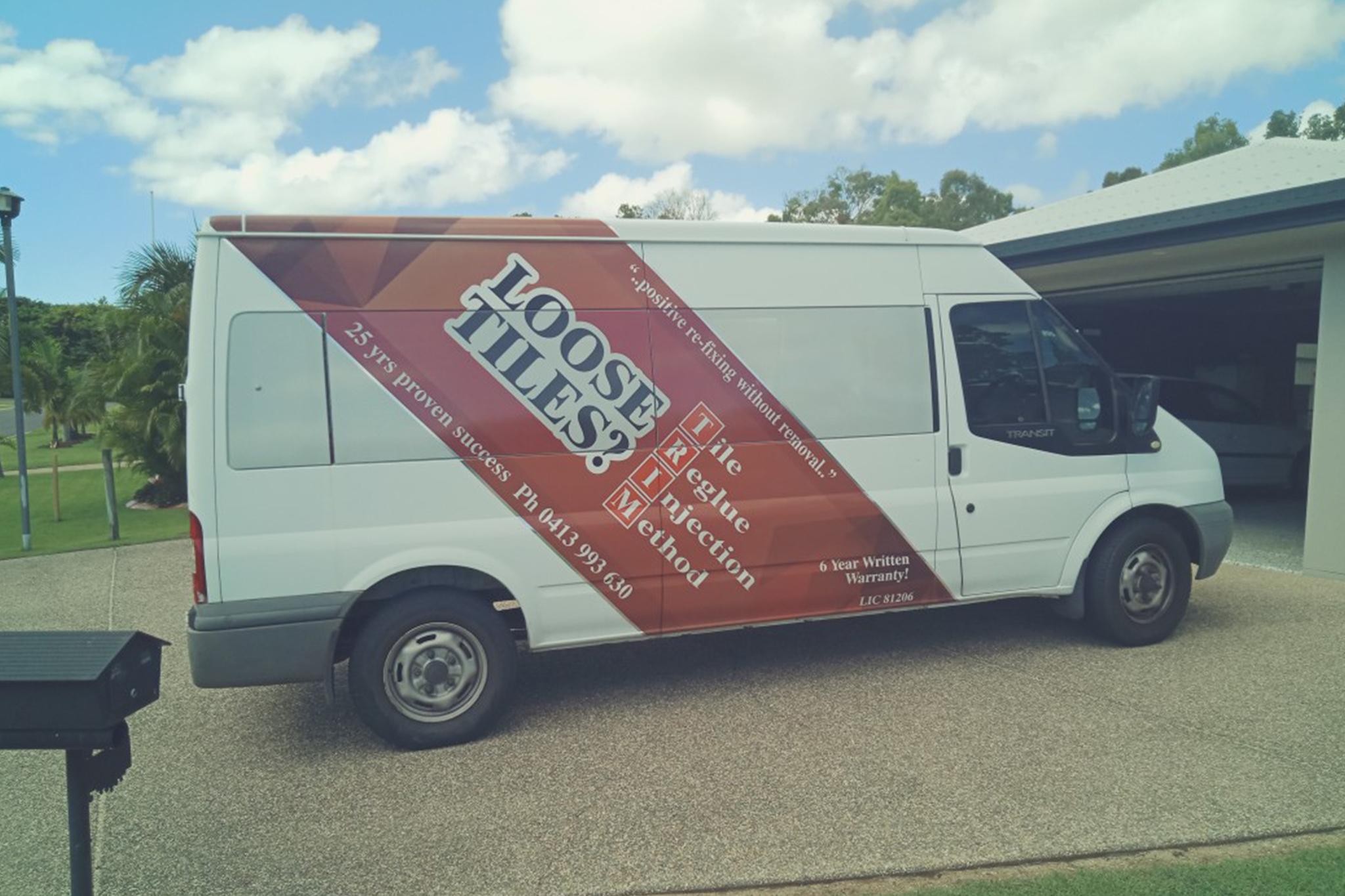 loose tiles van