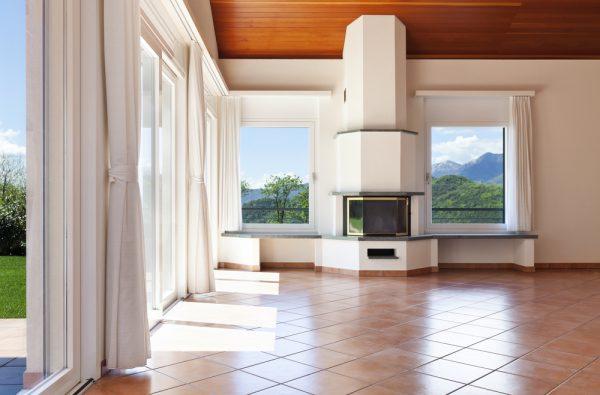 a stunning tiled sun room