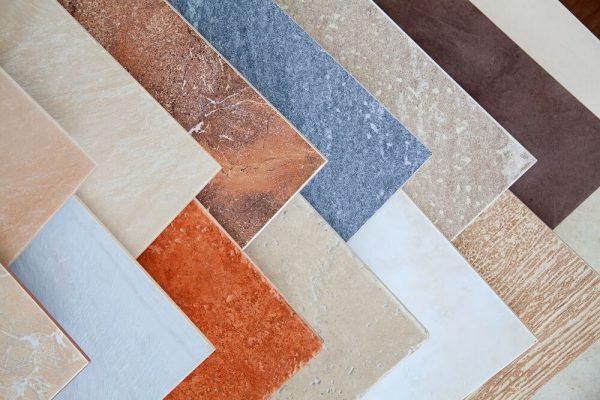 colorful ceramic tiles